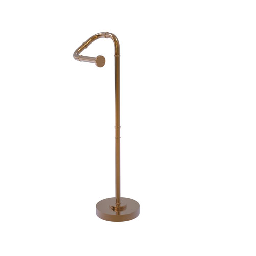 Remi Brushed Bronze Eight-Inch Free Standing Toilet Tissue Stand
