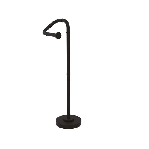 Remi Oil Rubbed Bronze Eight-Inch Free Standing Toilet Tissue Stand