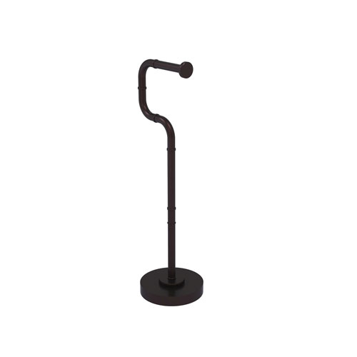 Remi Antique Bronze Six-Inch Free Standing Toilet Tissue Stand