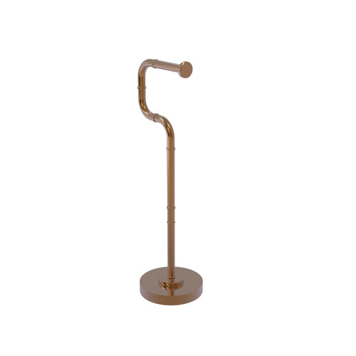 Remi Brushed Bronze Six-Inch Free Standing Toilet Tissue Stand