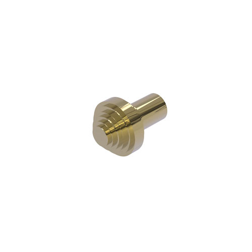 Southbeach Unlacquered Brass One-Inch Cabinet Knob
