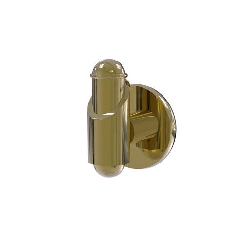 Soho Unlacquered Brass Three-Inch Robe Hook