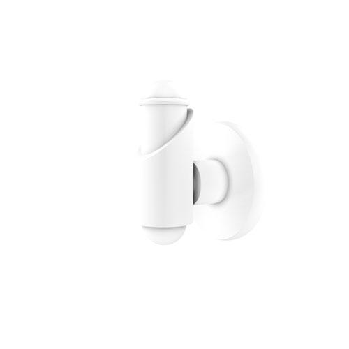 Soho Matte White Three-Inch Robe Hook