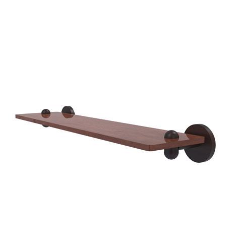 Tango Venetian Bronze 22-Inch Solid IPE Ironwood Shelf