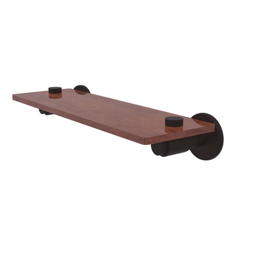 Tribecca Oil Rubbed Bronze 16-Inch Solid IPE Ironwood Shelf