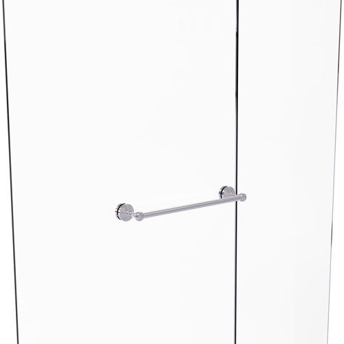 Waverly Place Polished Chrome 18-Inch Shower Door Towel Bar