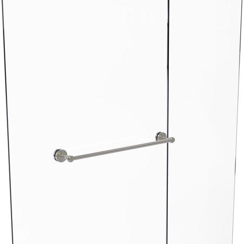 Waverly Place Satin Nickel 24-Inch Shower Door Towel Bar