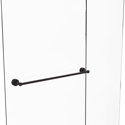 Waverly Place Venetian Bronze 30-Inch Shower Door Towel Bar