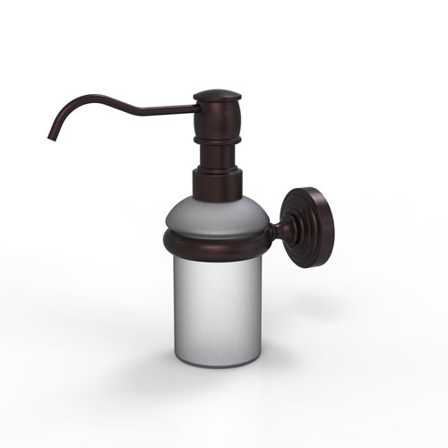 Waverly Place Antique Bronze Three-Inch Wall Mounted Soap Dispenser