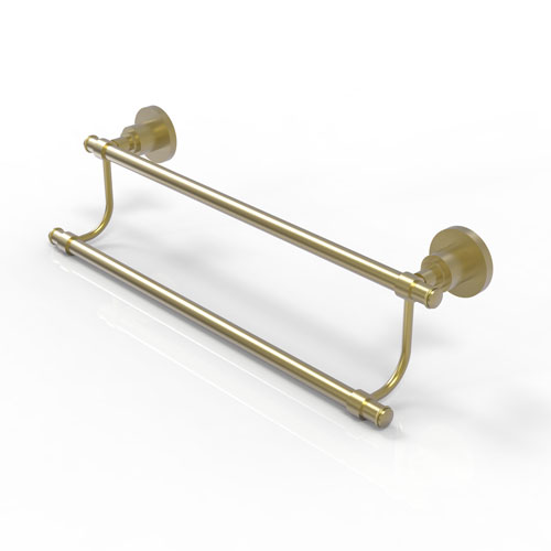 Washington Square Satin Brass 18-Inch Double Towel Bar