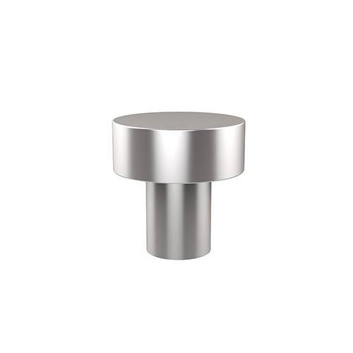 Allied Brass Style 107 1 inch Satin Chrome Designer Cabinet Knob