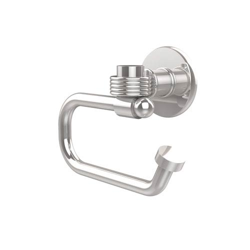 Continental Collection Euro Style Toilet Tissue Holder with Groovy Accents, Polished Chrome