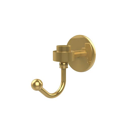 Satellite Orbit One Polished Brass Utility Hook
