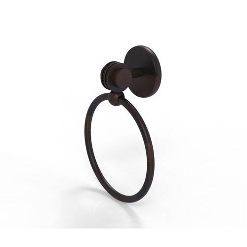 Satellite Orbit Two Collection Towel Ring with Dotted Accent, Venetian Bronze