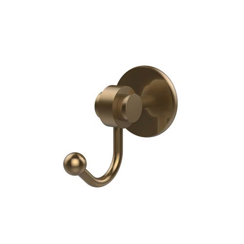 Satellite Orbit Two Collection Robe Hook, Brushed Bronze