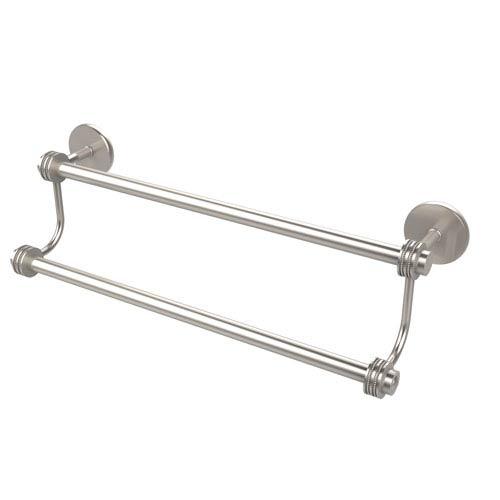 Allied Brass 30 Inch Double Towel Bar, Satin Nickel