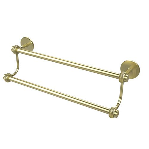 30 Inch Double Towel Bar, Satin Brass
