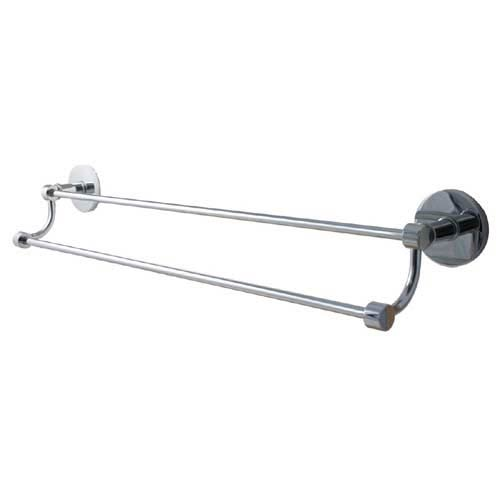 Allied Br Mercury Polished Chrome 30 Inch Double Towel Bar