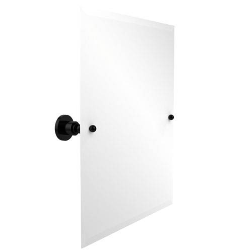 Frameless Rectangular Tilt Mirror with Beveled Edge