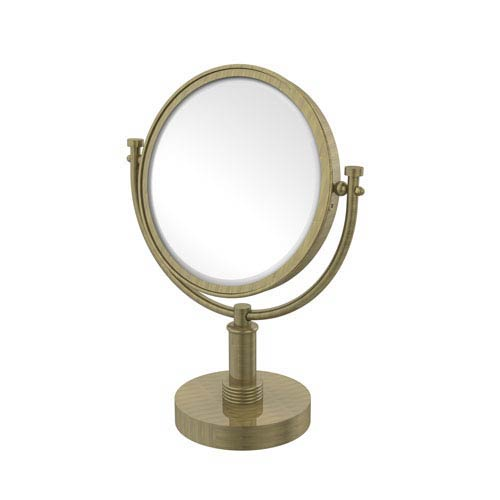 8-Inch Vanity Top Make-Up Mirror 4X Magnification