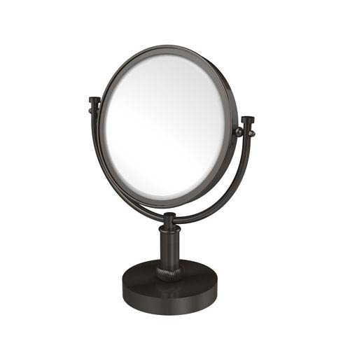 8 Inch Vanity Top Make-Up Mirror 3X Magnification, Oil Rubbed Bronze