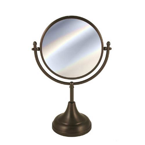 Oil Rubbed Bronze 8 Inch Mirror 4x Magnification