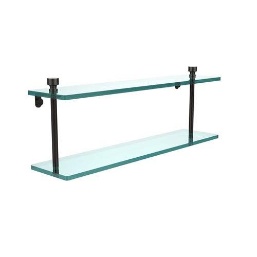 Foxtrot Oil Rubbed Bronze Double Shelf