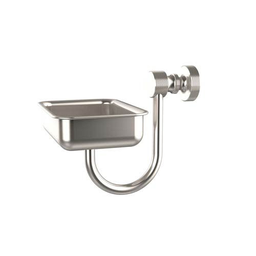 Allied Br Foxtrot Collection Wall Mounted Soap Dish Satin Nickel