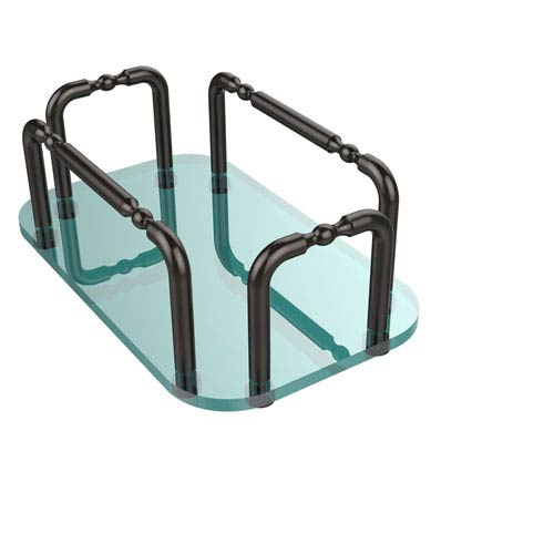 Allied Brass Vanity Top Guest Towel Holder, Oil Rubbed Bronze