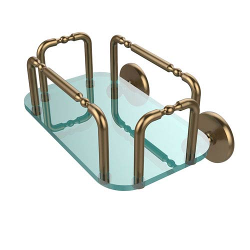 Allied Brass Skyline Wall Mounted Guest Towel Holder, Brushed Bronze