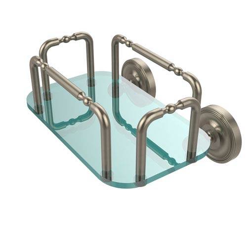 Allied Brass Prestige Wall Mounted Guest Towel Holder, Antique Pewter