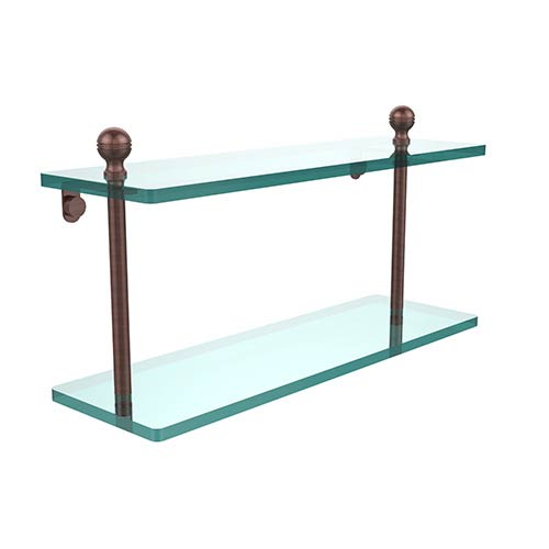 Mambo Antique Copper Double Shelf