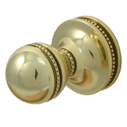 Mambo Polished Brass Utility Hook