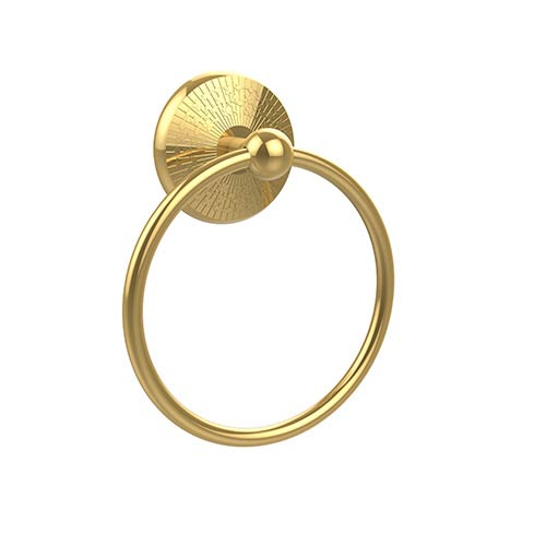 Monte Carlo Polished Brass Towel Ring