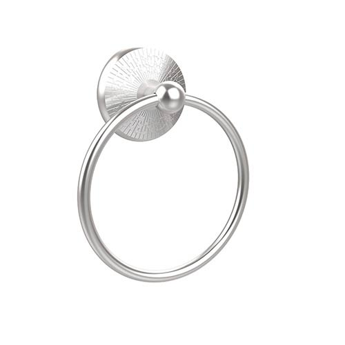 Monte Carlo Satin Chrome Towel Ring