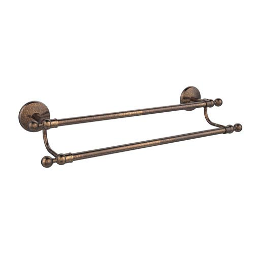 Monte Carlo Collection 24 Inch Double Towel Bar, Venetian Bronze
