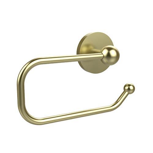 Satin Brass Euro-Style Toilet Paper Holder