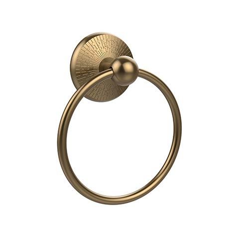 Allied Brass Prestige Monte Carlo Brushed Bronze Towel Ring