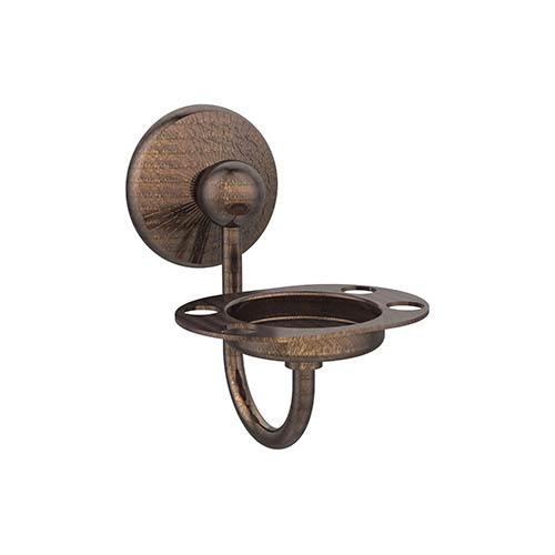 Allied Brass Prestige Monte Carlo Venetian Bronze Tooth/Tumbler Holder