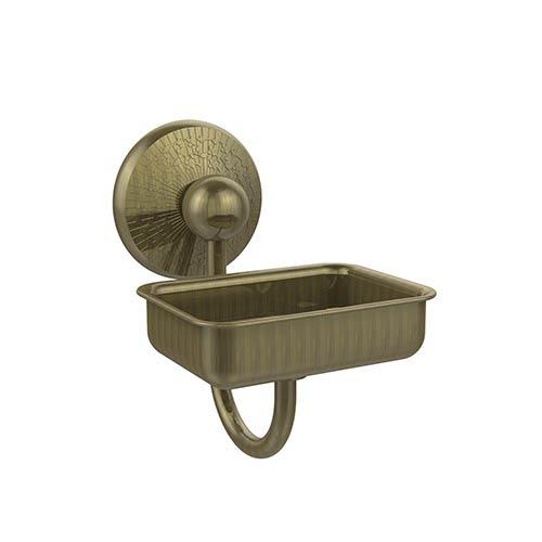 Prestige Monte Carlo Antique Brass Wall-Mounted Soap Dish