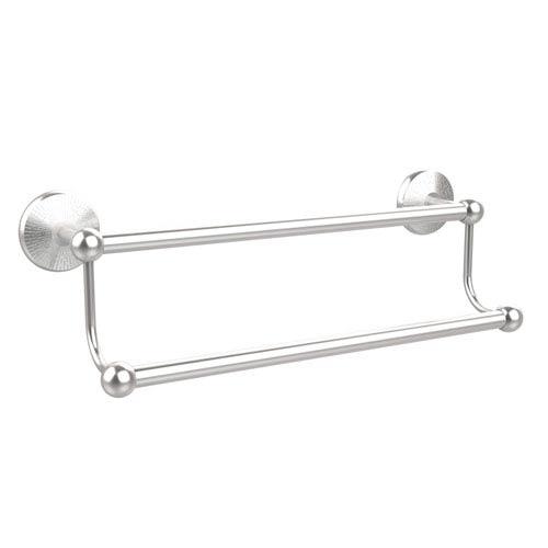 Satin Chrome 18-Inch Double Towel Bar