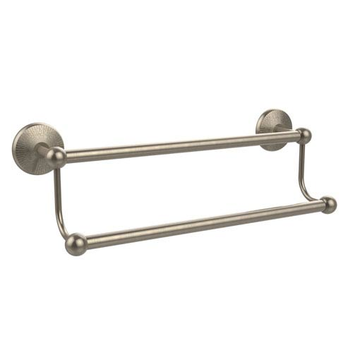 Prestige Monte Carlo Antique Pewter 24-Inch Double Towel Bar