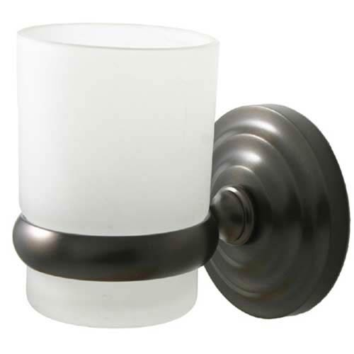 Prestige Que-New Oil Rubbed Bronze Wall-Mounted Tumbler Holder