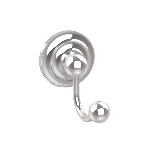 Allied Brass Prestige Que New Collection Robe Hook, Polished Chrome