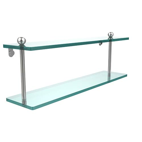 Prestige Regal Satin Chrome Double Shelf