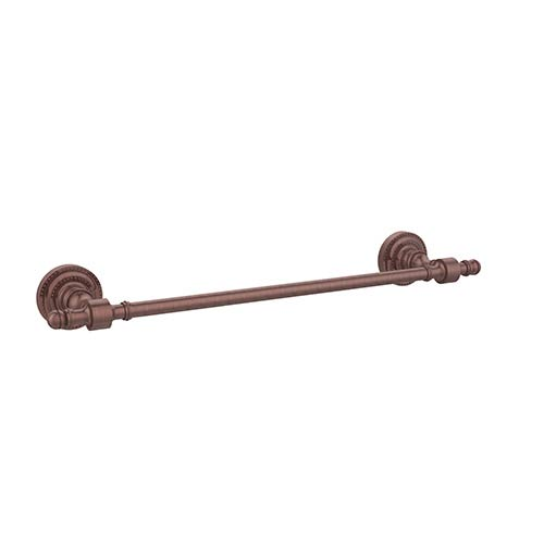 Antique Copper 18-Inch Towel Bar