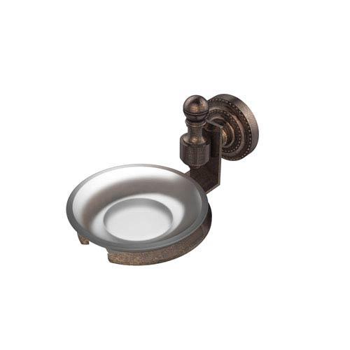 Retro-Dot Collection Wall Mounted Soap Dish, Venetian Bronze