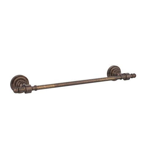 Retro Dot Venetian Bronze 18 Inch Towel Bar