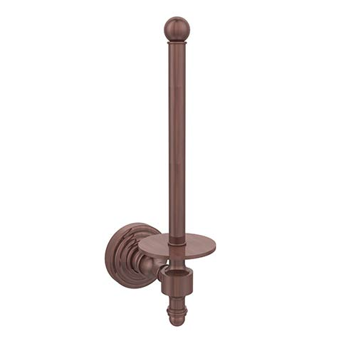 Allied Brass Antique Copper Upright Toilet Paper Holder