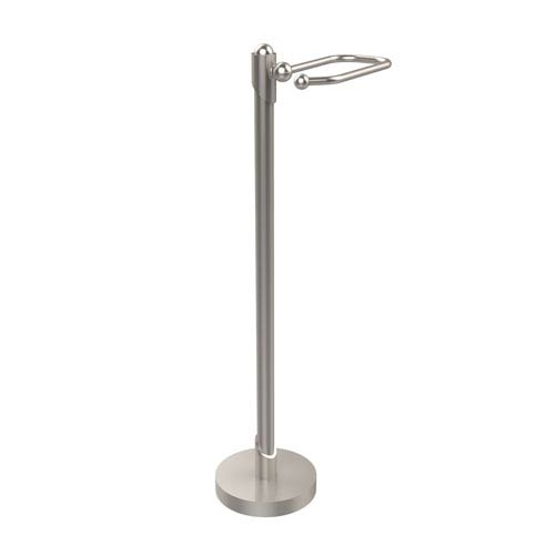 Soho Collection Free Standing Toilet Tissue Holder, Satin Nickel